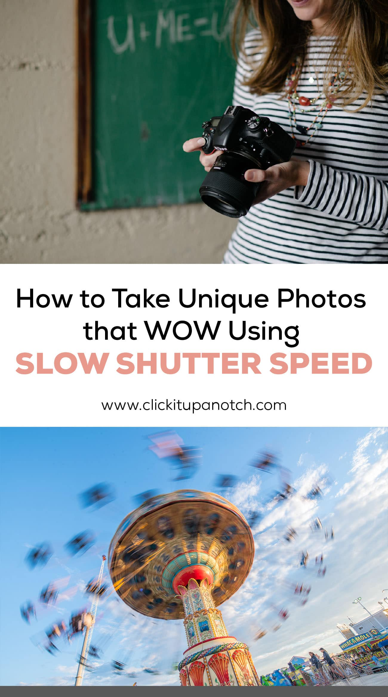 Take your photos to the next level with slow shutter speed!