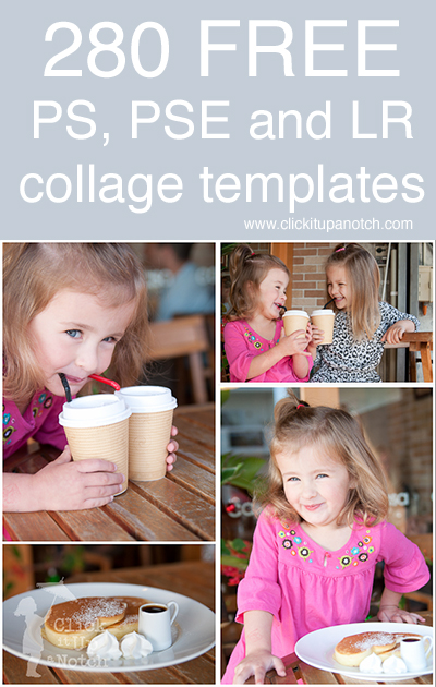 free photoshop photoshop elements and lightroom collage templates