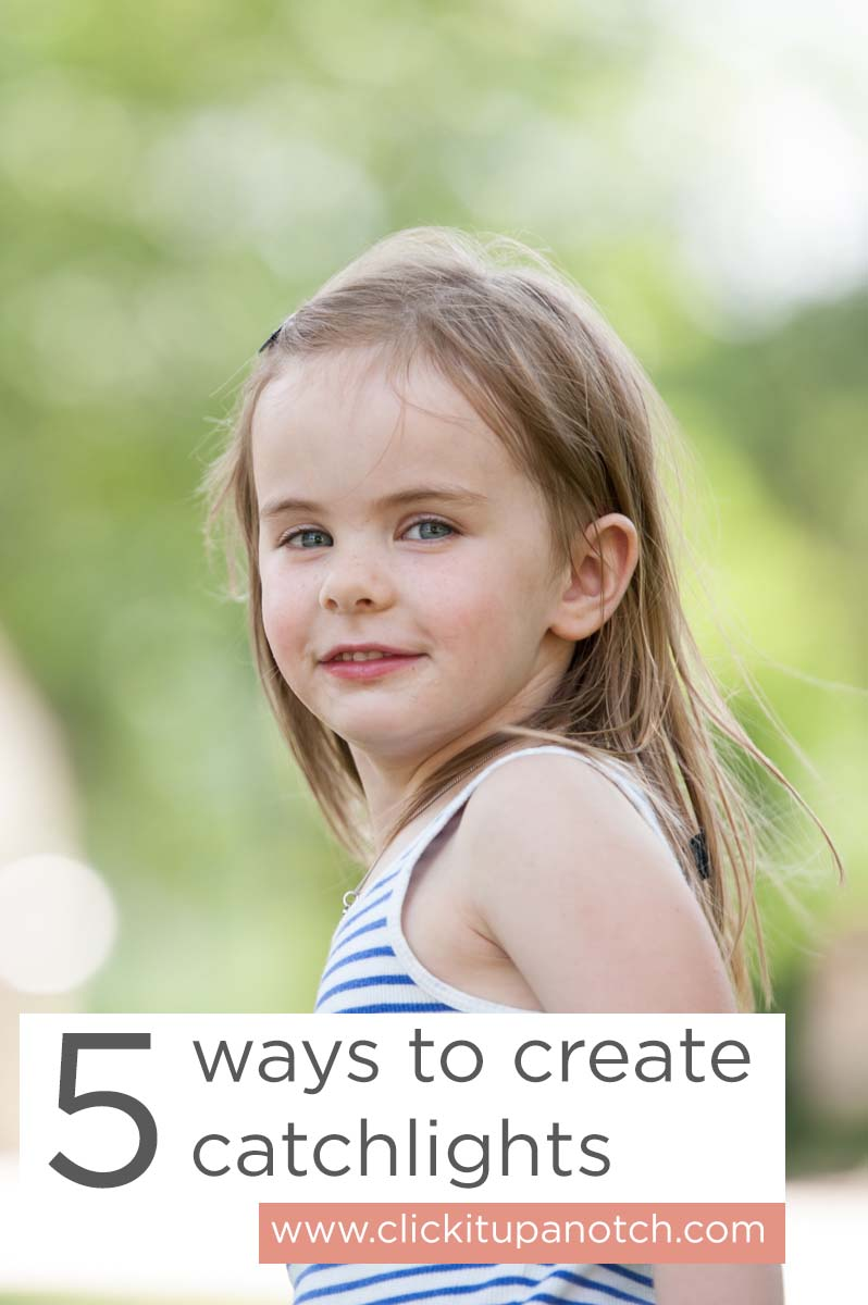 5 ways to create catchlights