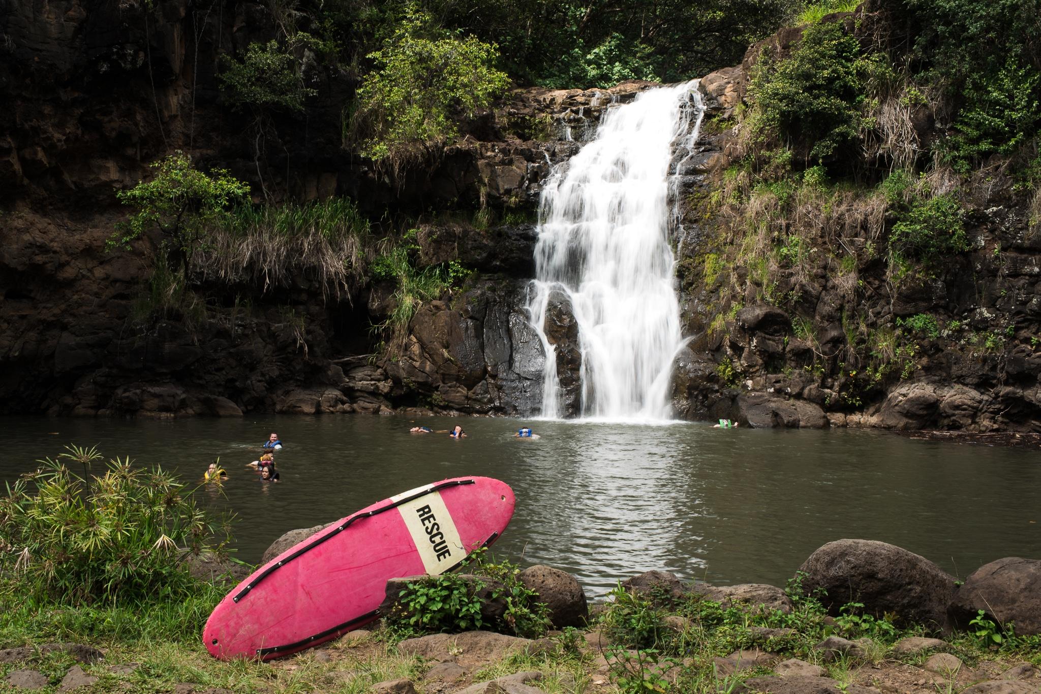 slow shutter speed for waterfalls