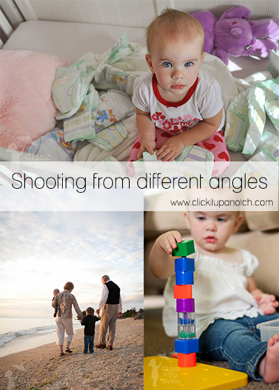 Shooting from different angles