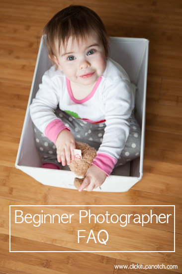 Beginner Photographer FAQ