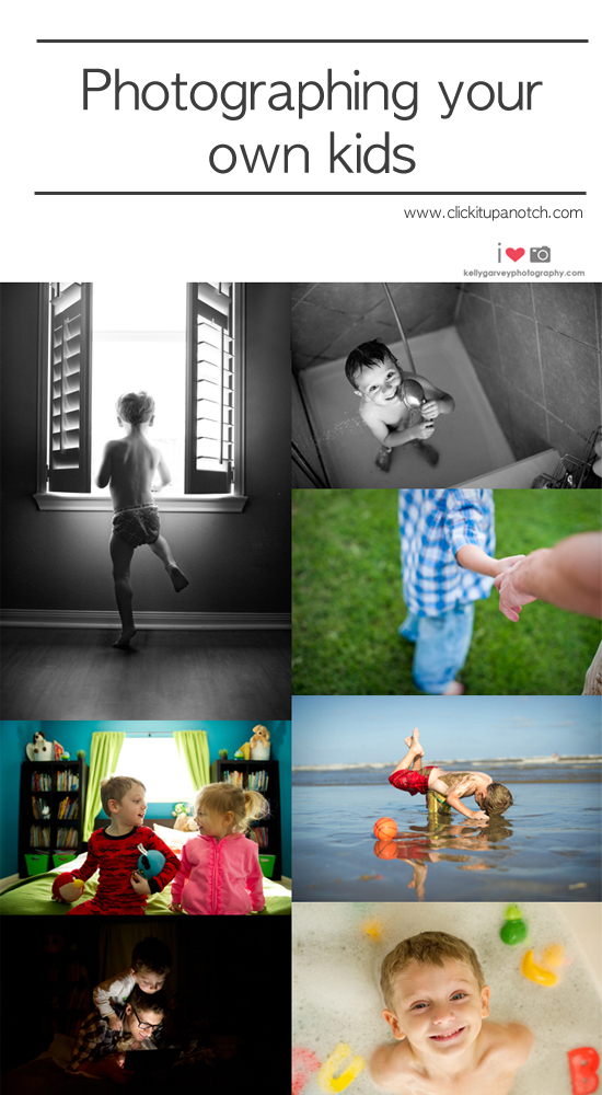 photographing your own kids