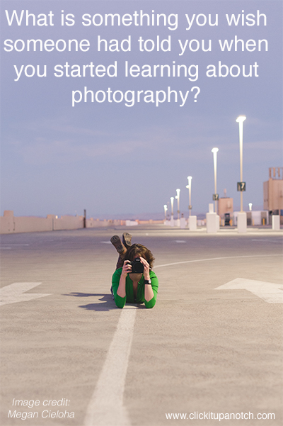 learned in photography