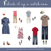 What to Wear in Family Photos-August 2012