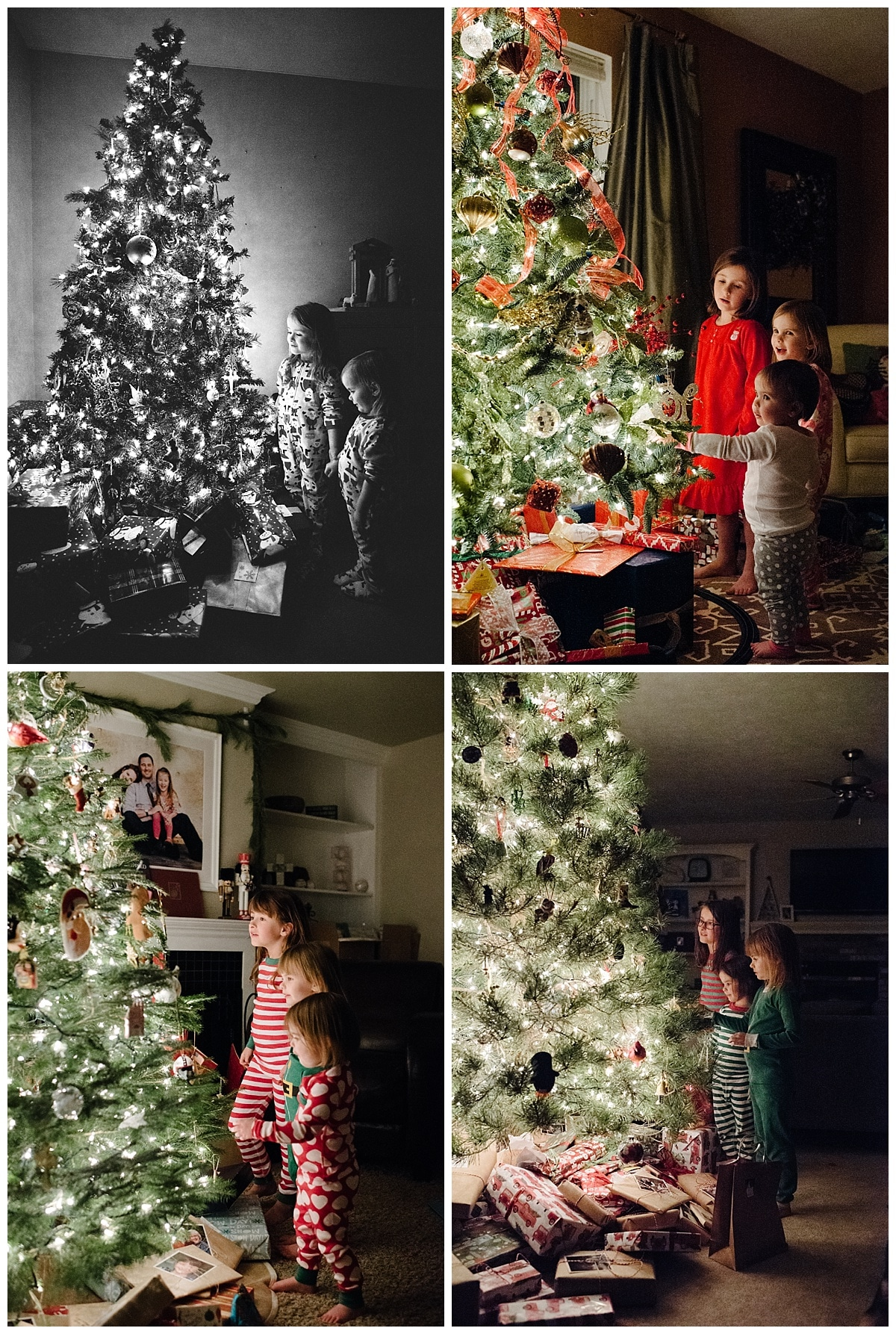 Start a new Christmas photo tradition. In 5 simple steps, you can photograph your children by the light of the Christmas tree. This is a perfect way to photograph Christmas and capture the magic.