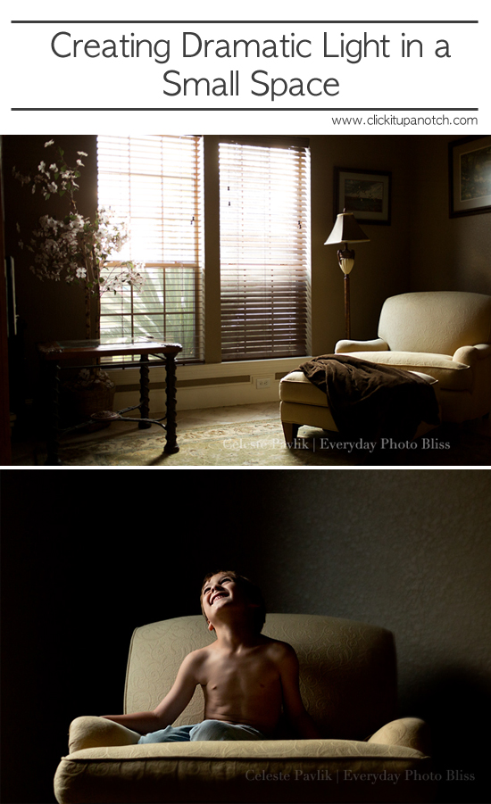 Creating dramatic light in small spaces