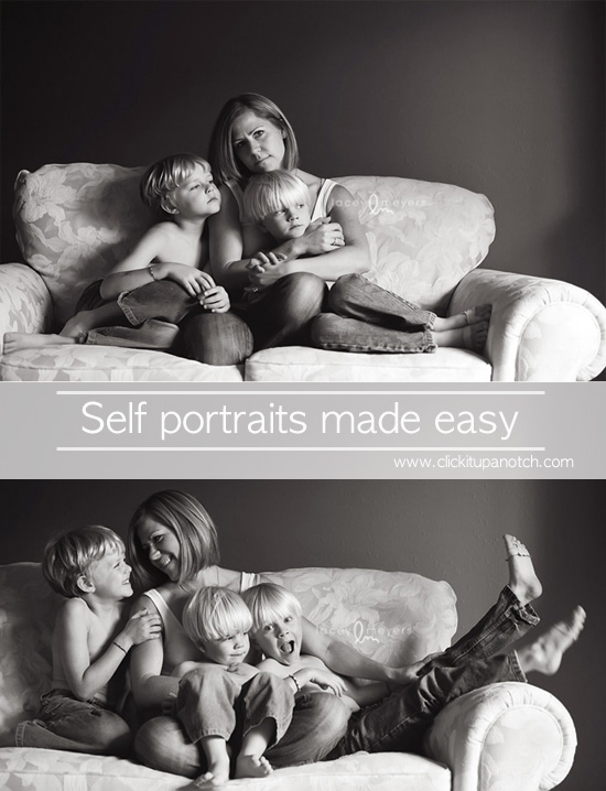 self portraits made easy