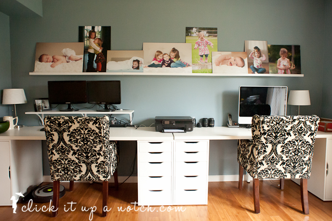 click it up a notch photo wall display