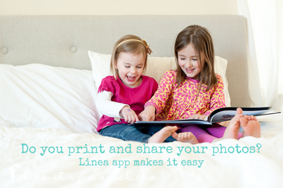 Linea App- easy sharing, storing and print