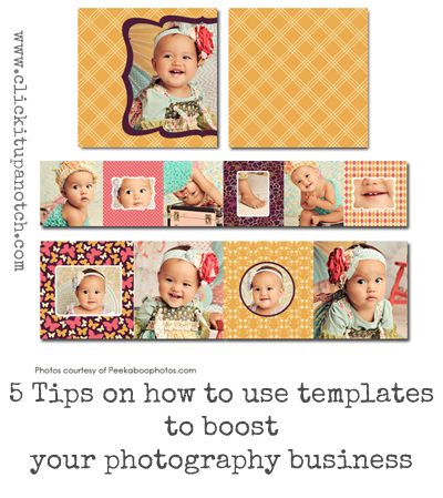How to use photography templates to boost your business click it photography templates to boost your business wajeb Image collections