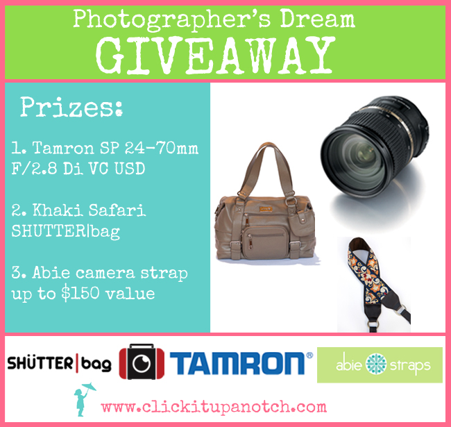 photographer's dream giveaway