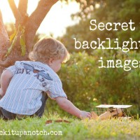 backlighting images