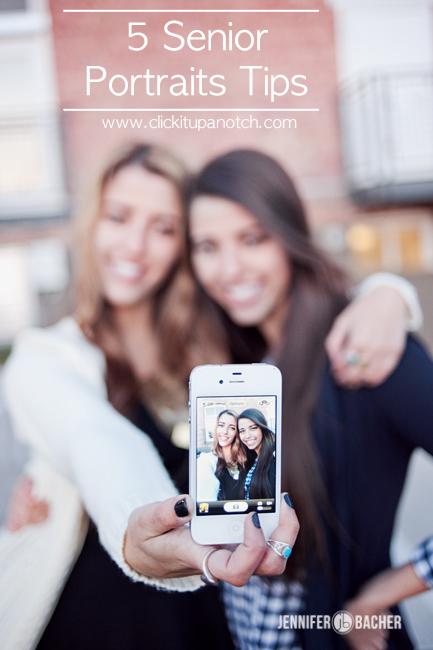 5 senior portrait tips via Click it Up a Notch