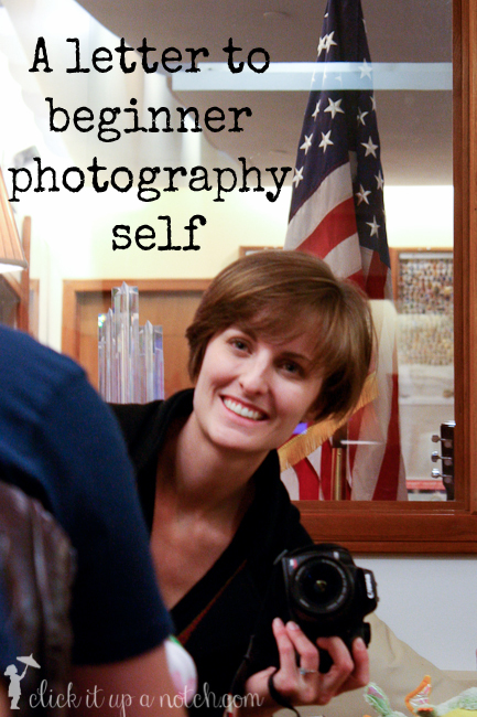 A letter to my beginner photography self