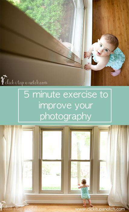 5 minute exercise to improve your photography
