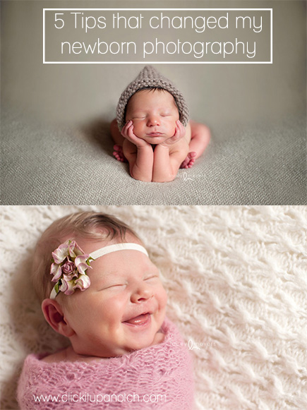 Tips For A Newborn Photo Shoot
