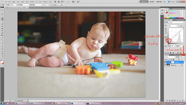 photoshop editing: matte processing via click it up a notch