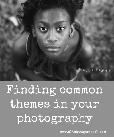 finding common themes in your photography