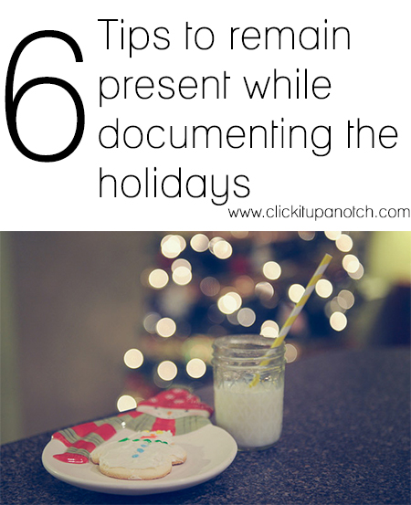 documenting the holidays