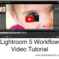 Lightroom workflow video tutorial