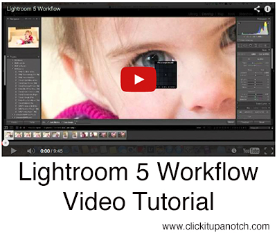 Lightroom workflow video tutorial
