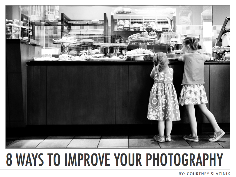 FREE ebook - 8 ways to improve your photography in one week no matter what camera you have via Click it Up a Notch