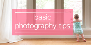 basic photography tips button