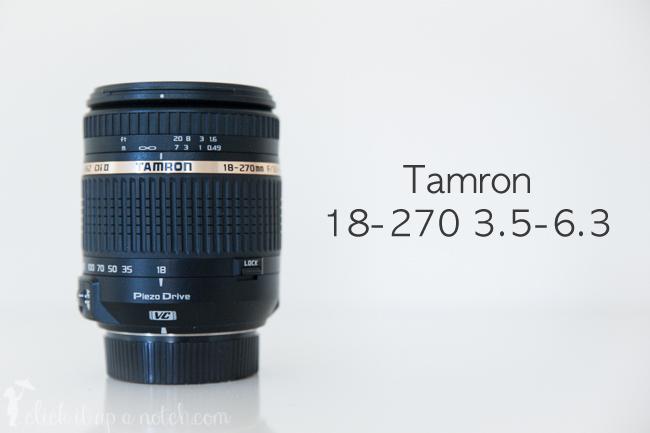 Tamron 18-270mm 3.5-6.3