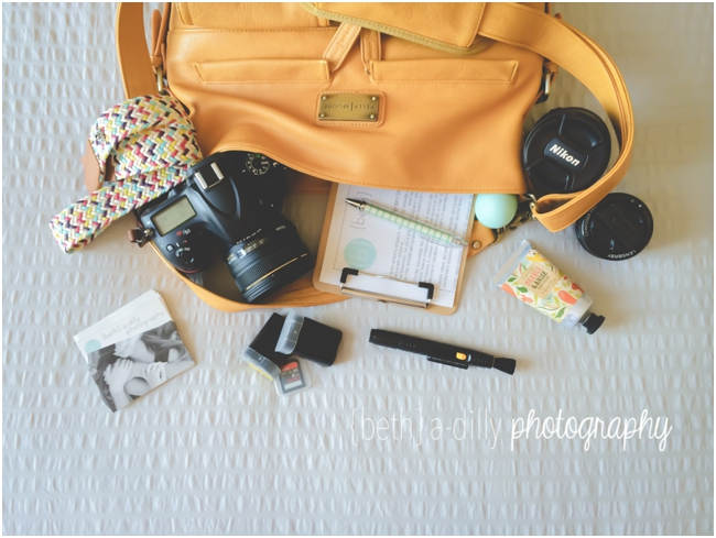 What to pack for a photo session via Click it Up a Notch