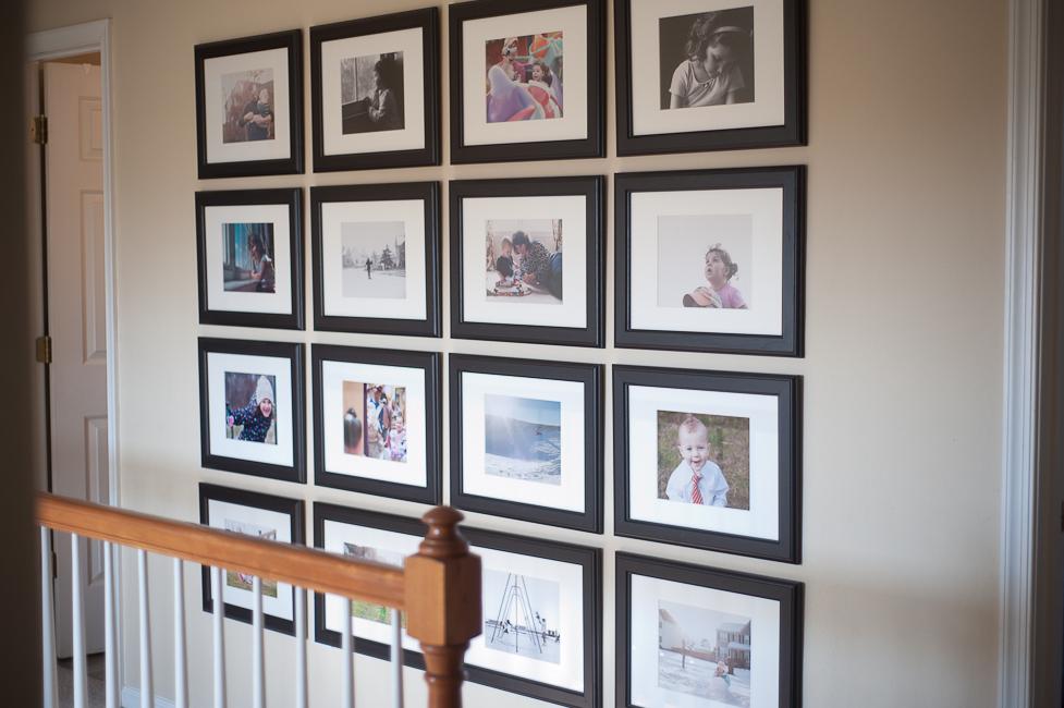 Photo Wall Display-Symmetry