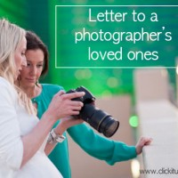 Letter to photographer's family