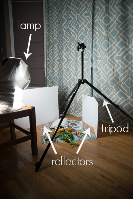 food photography lighting