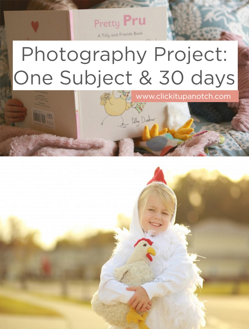 photography project one subject