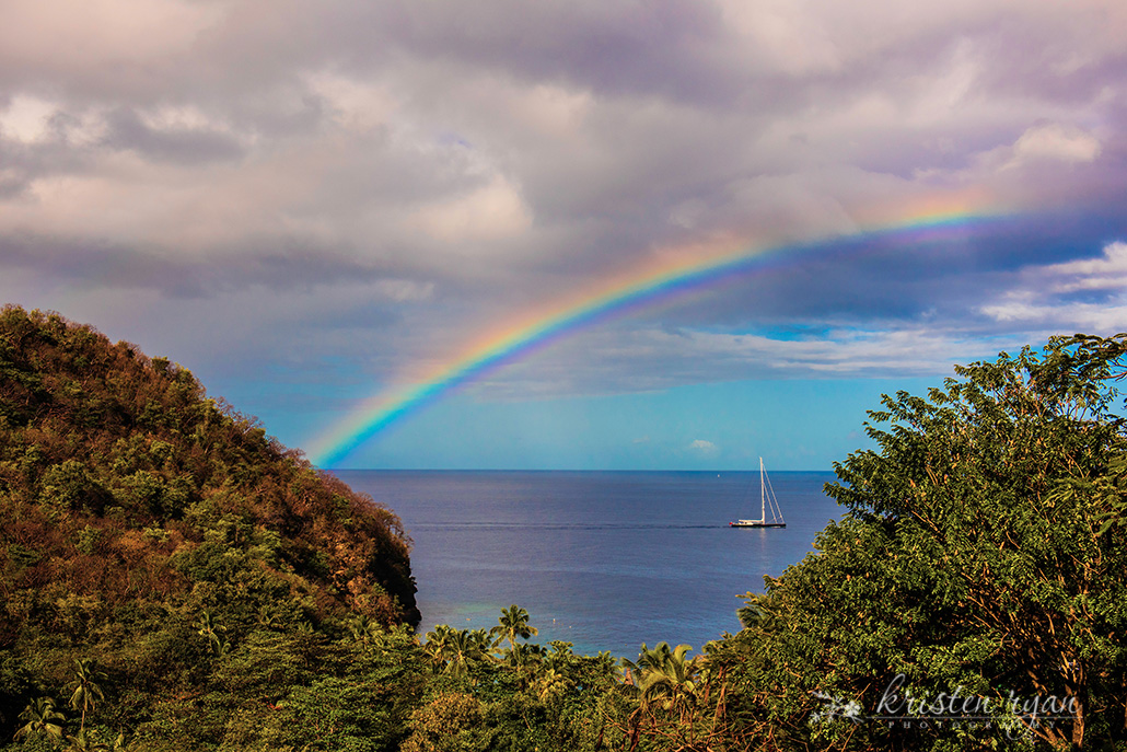 Landscape photography tips Rainbow