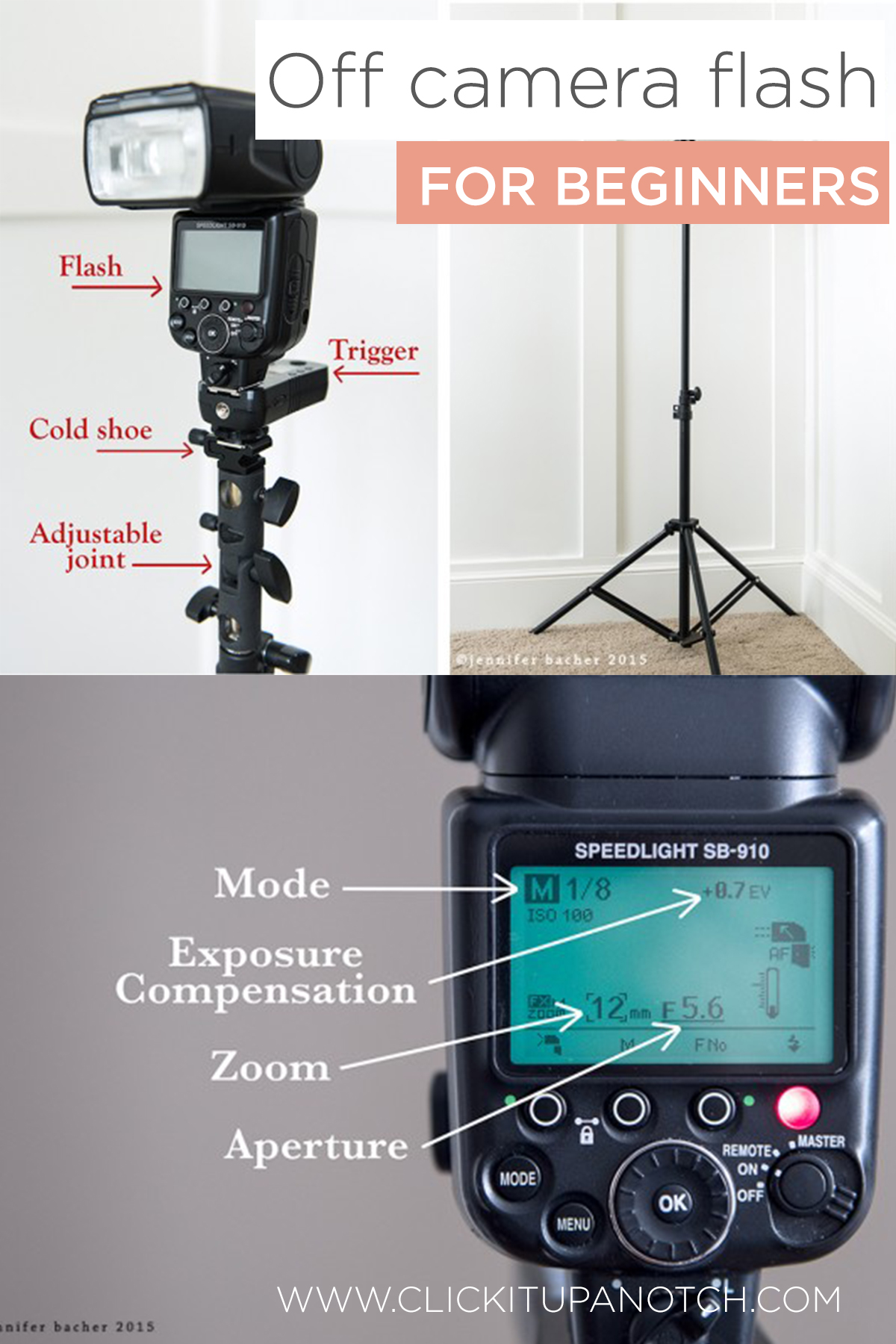 Off Camera Flash Photography For Beginners Soft Start Lights Via Click It Up A Notch