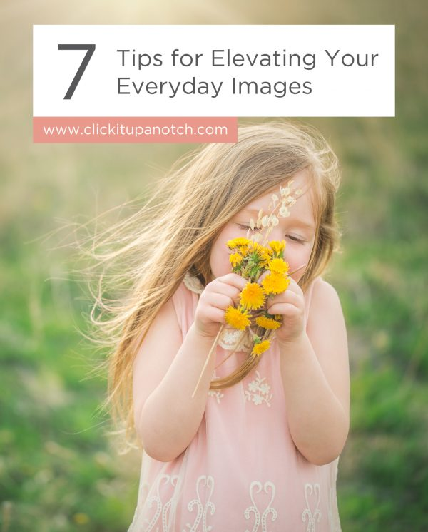 Her tips are so inspirational and her day to day images are so beautiful! Read - 7 Tips for Elevating Your Everyday Images
