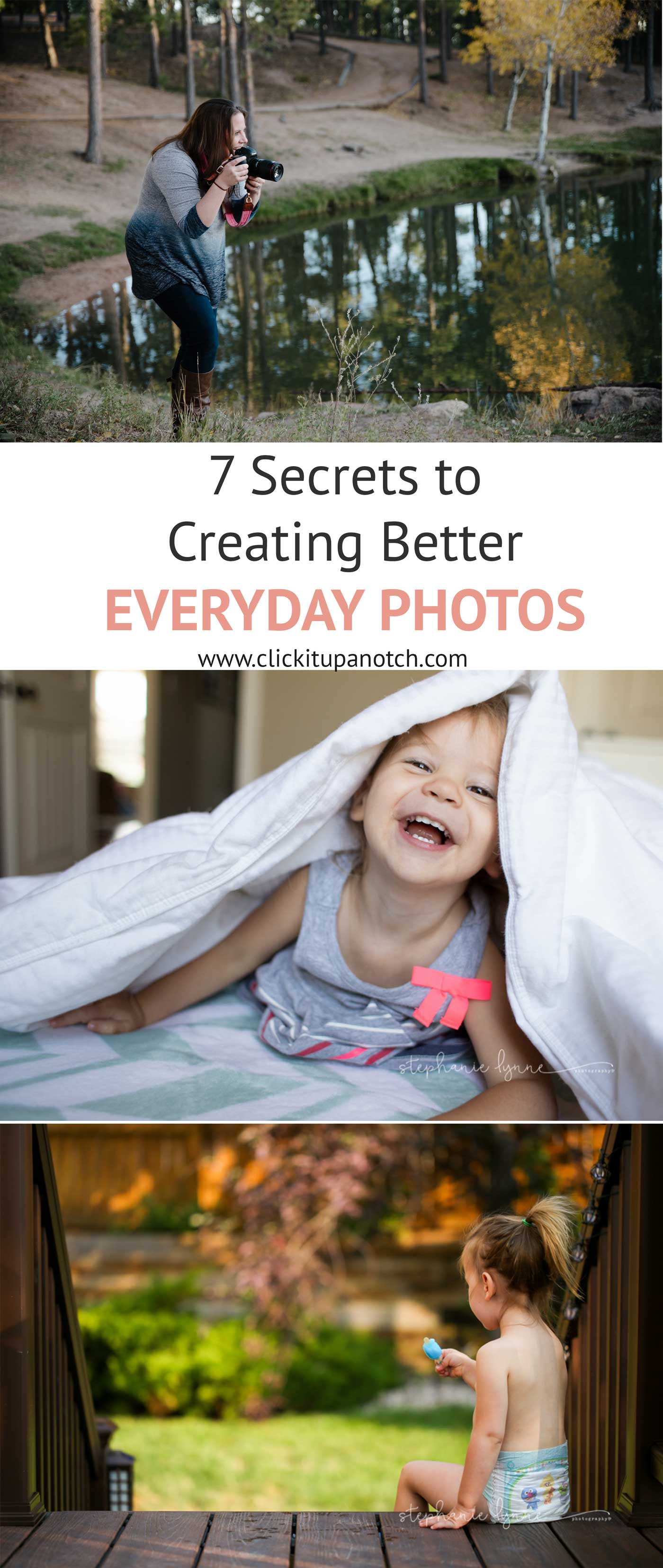 Great photography tips to better everyday photos! Awesome tips to take pictures of the everyday moments.
