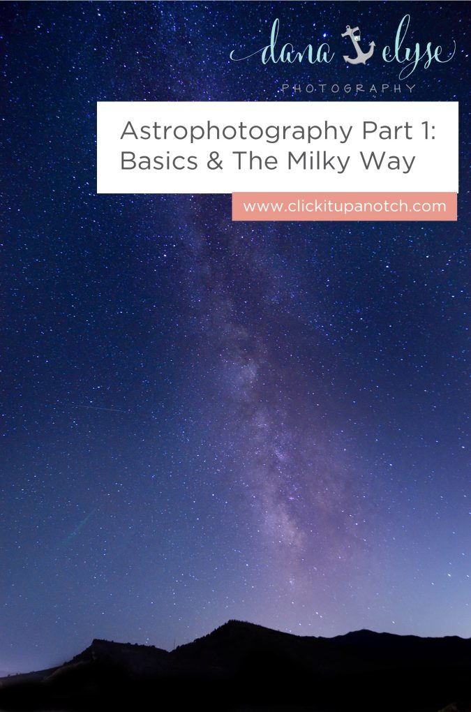 "I've always wanted to learn more about Astrophotography! I'm going to have to use her tips! Read - ""Astrophotography Part 1: Basics and the Milky Way"""