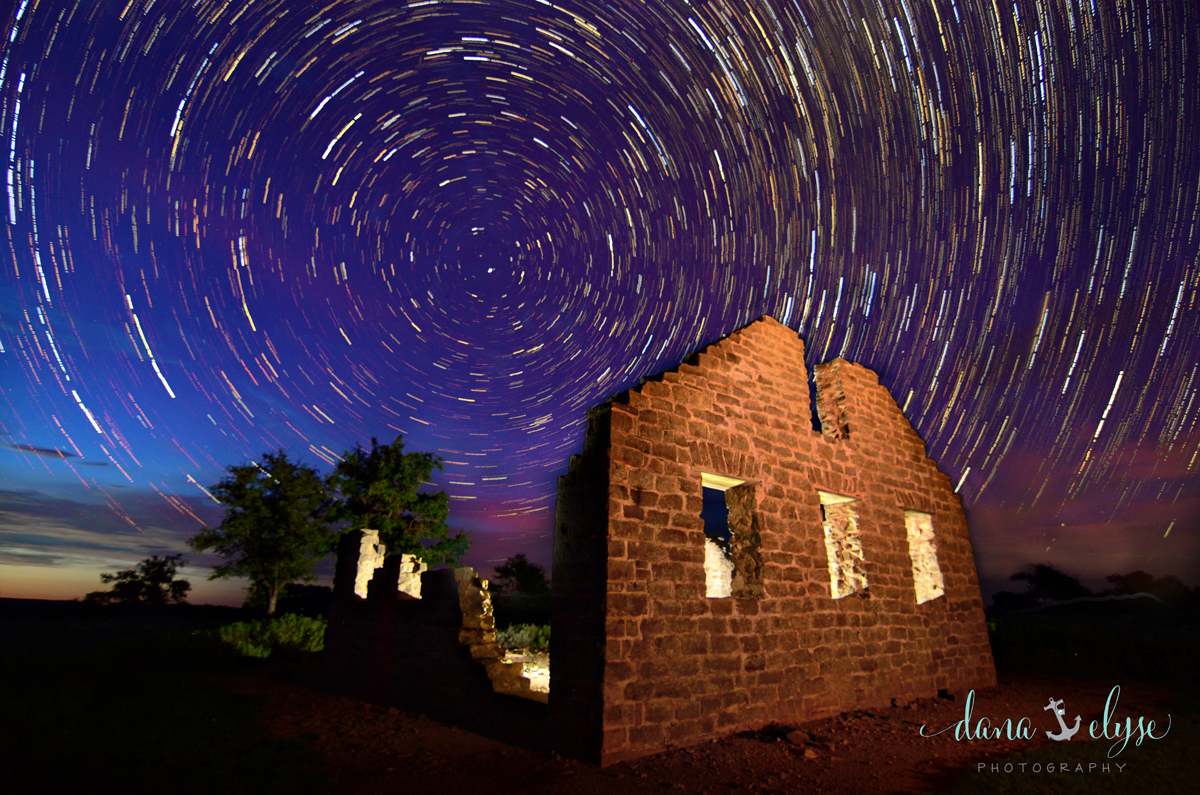 slow shutter speed for star trails
