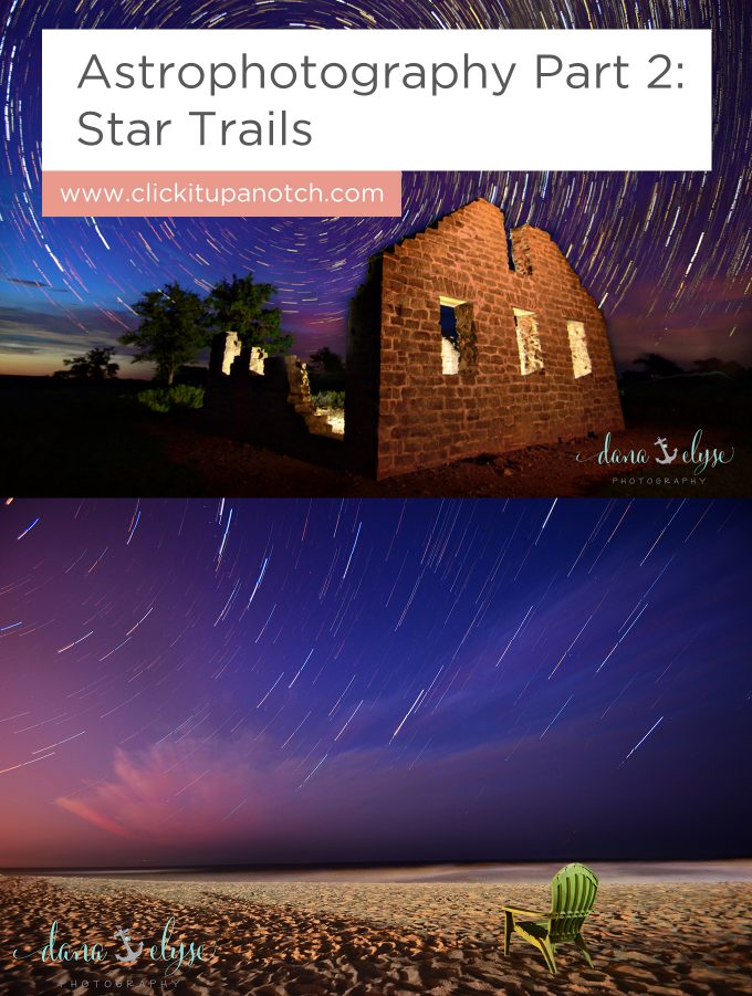 "I did not expect that capturing star trails would be so simple! I also love her resource suggestions! Read - ""Astrophotography Part 2: Star Trails"""