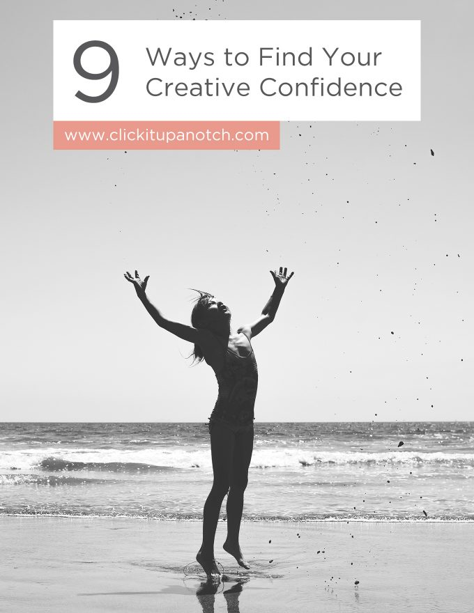 """I honestly never really thought about some of her approaches on finding confidence. So good, so heartfelt! Read - """"9 Ways to Find your Creative Confidence"""""""