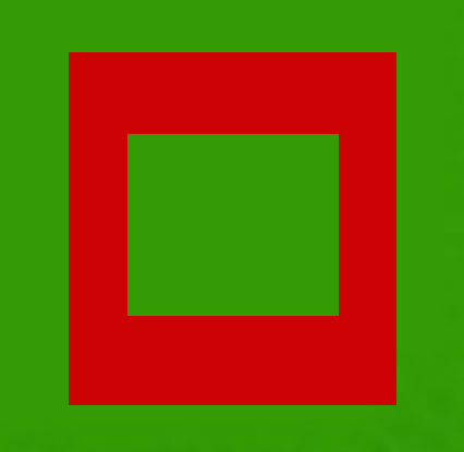 red-and-green