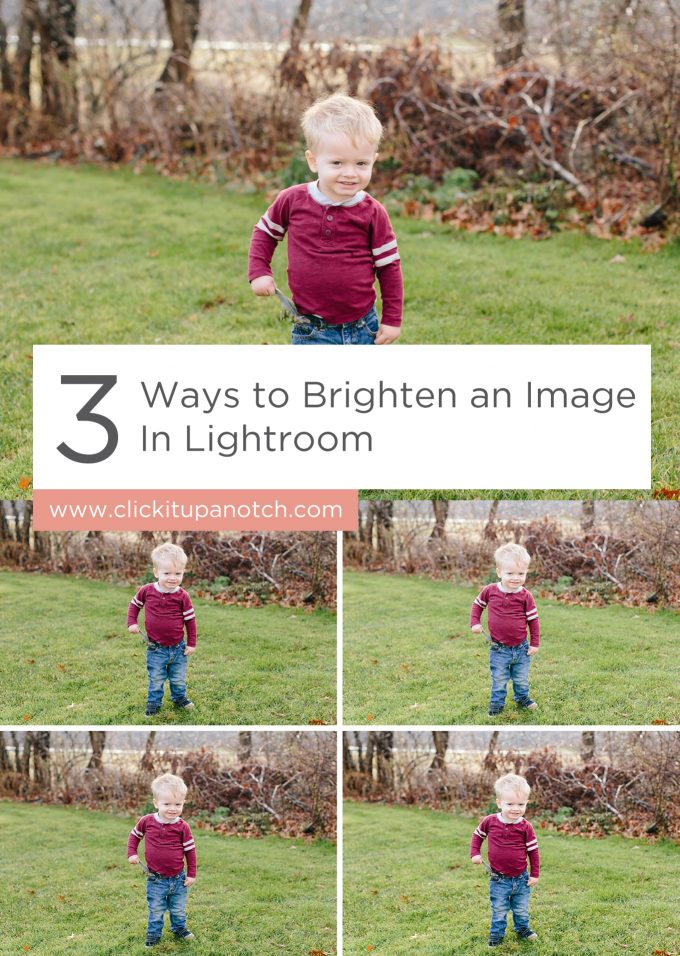 "I never thought to brighten an image in her third example! Read ""3 Ways to Brighten an Image in Lightroom"""