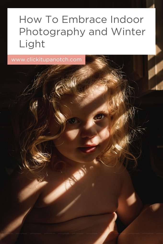 "I adore how she's embraced the shadows in her indoor photography. She even included editing tips! Read - ""How to Embrace Indoor Photography and Winter Light"""