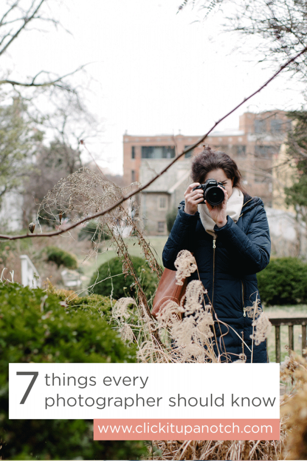 Yes! Definitely things that are important for photographers to know. Lots of great tips and links to in depth tutorials. via Click it Up a Notch