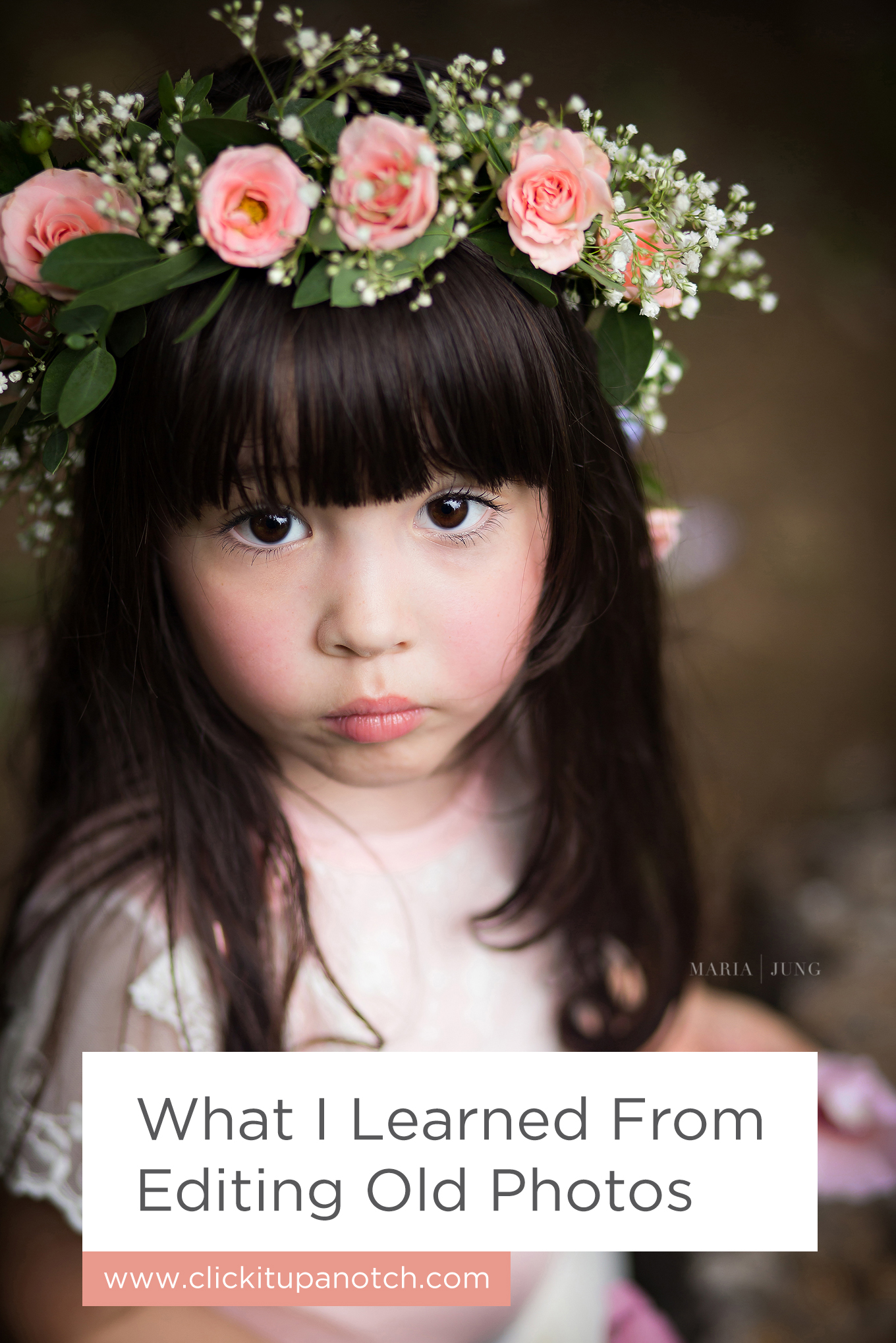 "I love the idea of going back and editing older images! Read - ""What I Learned From Editing Old Photos"""