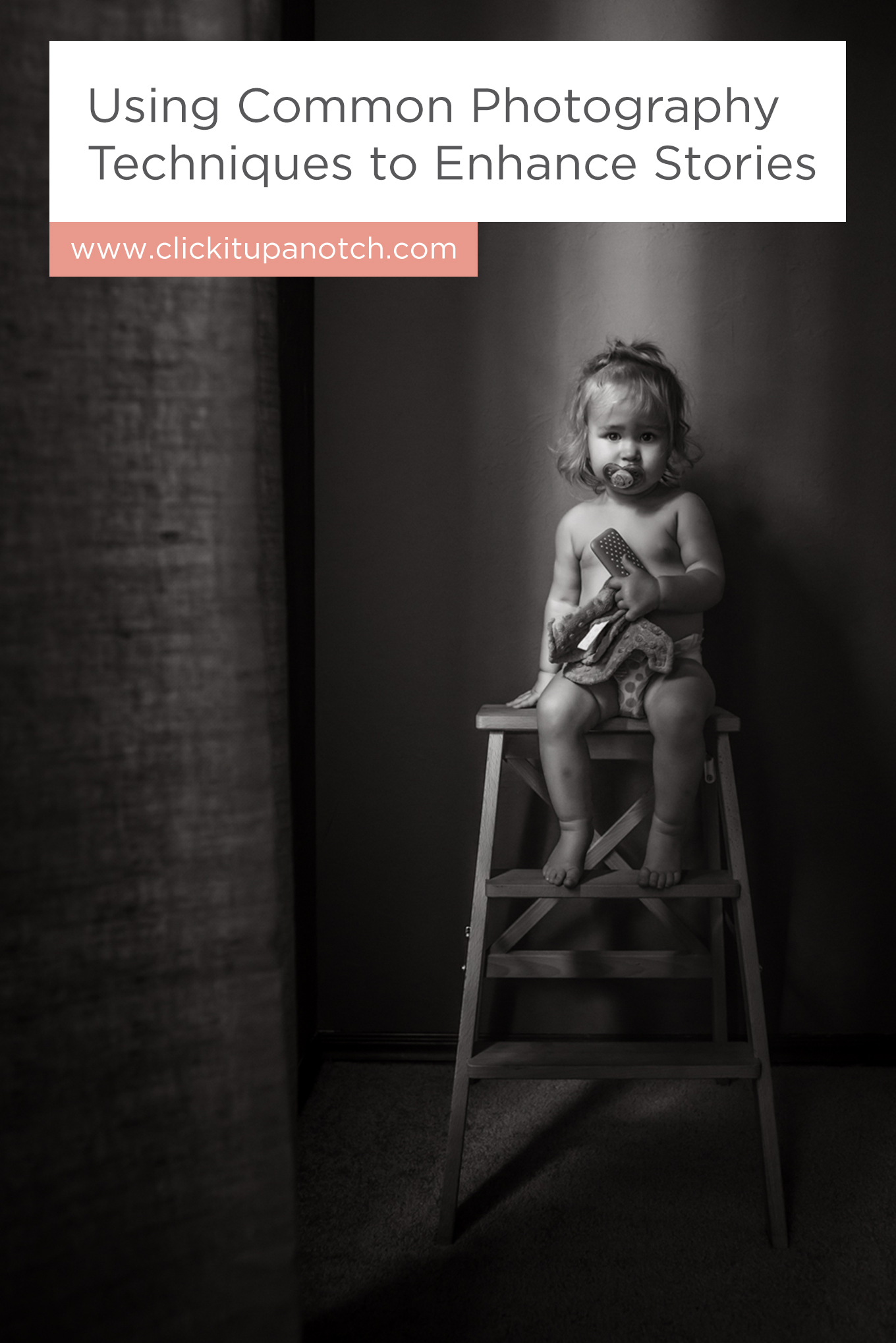 """I'm excited to try our her tips and elevate my images! Read - """"Using Common Photography Techniques to Enhance Stories"""""""