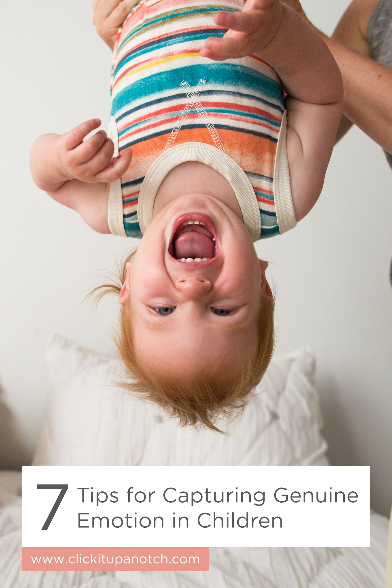 "My kids hate getting their picture taken. This is just what I needed to read!  Read - ""7 Tips for Capturing Genuine Emotion in Children"""