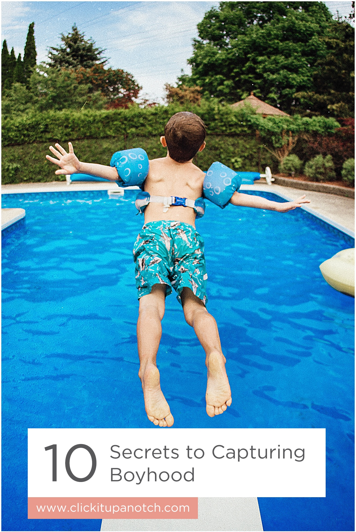 """This is a must read for all boy moms! Read - """"10 Secrets to Capturing Boyhood"""""""